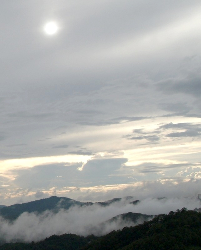 Yunnan, China: Alles in Wolken