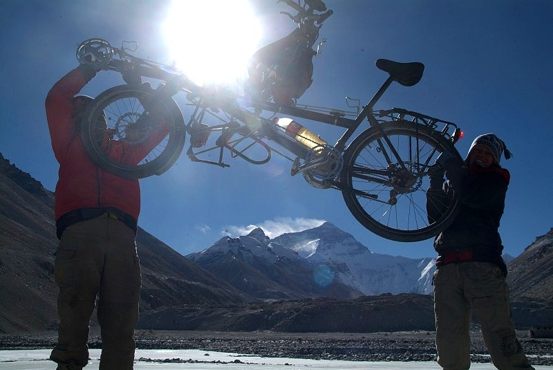 benny mandy tandem hase pino mt everest basislager 5200m